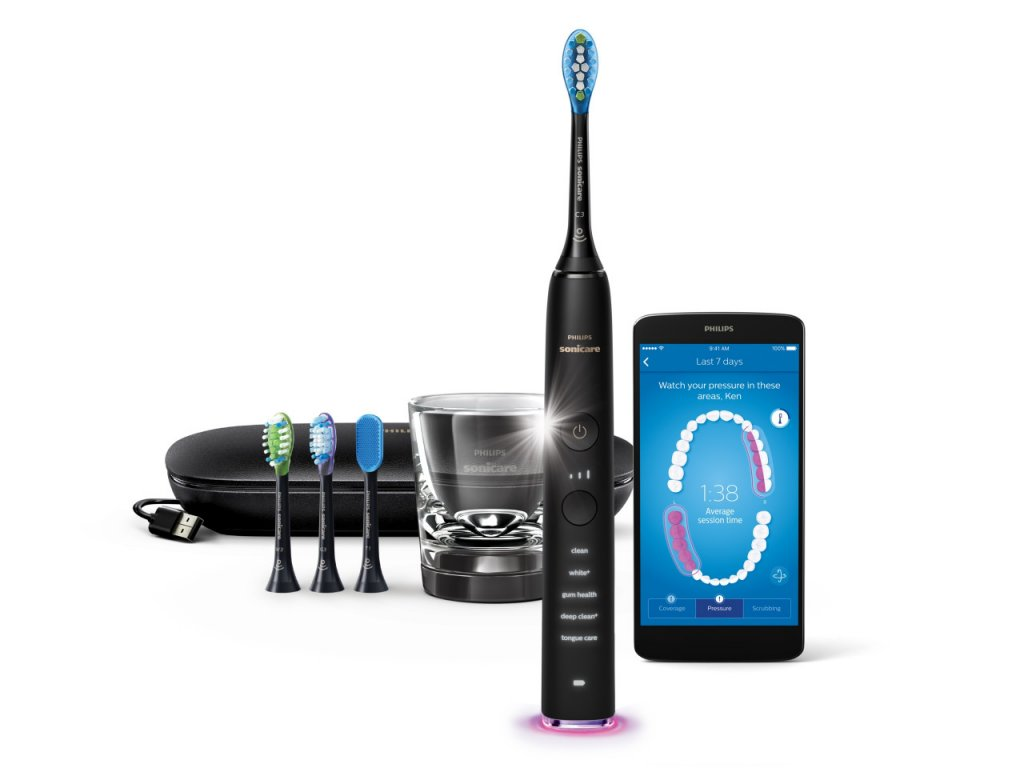 Philips Sonicare 9500 DiamondClean Smart HX992417 Black
