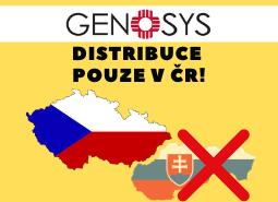 GENOSYS - změna distributora pro Slovensko!