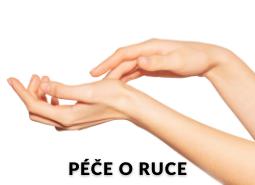 Extra péče: RUCE + akční nabídky