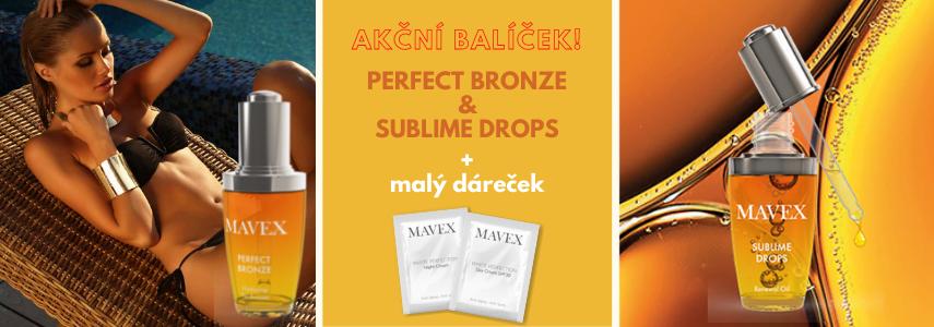 Bezpečně na slunce - Perfect Bronze + Sublime Drops