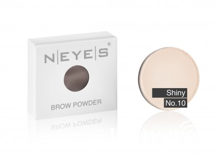 brow powder 10 shiny