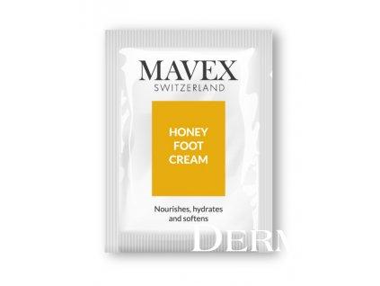 sample honey foot cream MAVEX Fytoceutika