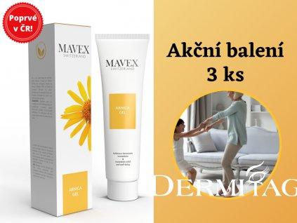 Arnica Gel Mavex 3ks balení