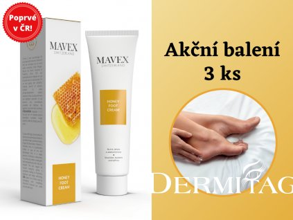 Honey Foot Cream Mavex 3ks balení