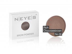brow powder 06 rich chocolatebrown