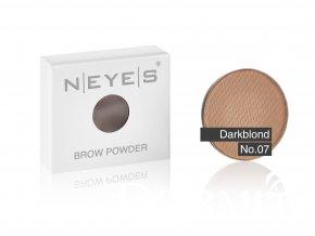 brow powder 07 darkblond