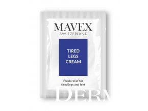 sample tired legs cream MAVEX Fytoceutika