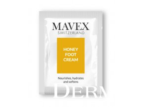 sample honey foot cream MAVEX Fytoceutika