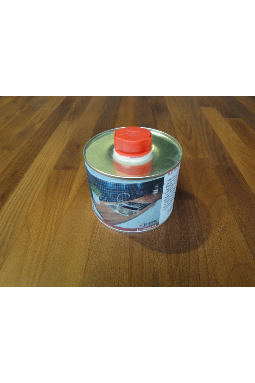 PLECHOVKA - Lněný olej 0,75l