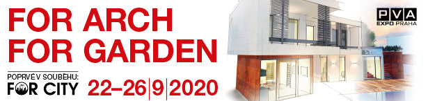 Dešťovka.eu na veletrhu ForArch 2020