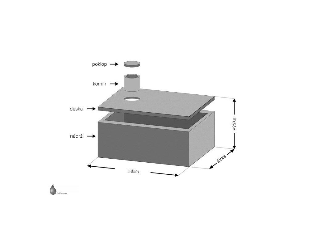 betonova jimka jednokomorova 6000