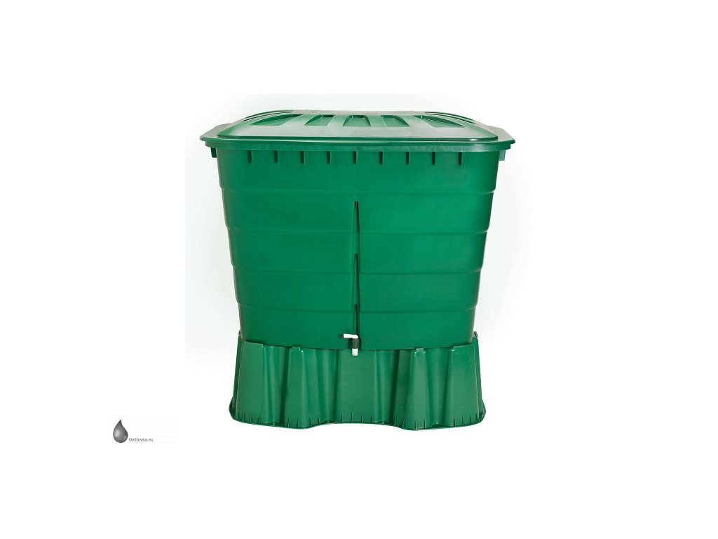 Nádoba na dešťovou vodu, hranatá, 520 litrů