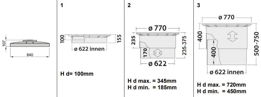 Gera Podzemní nádrž na dešťovou vodu Atlantis 5,3 m3 - 5300l