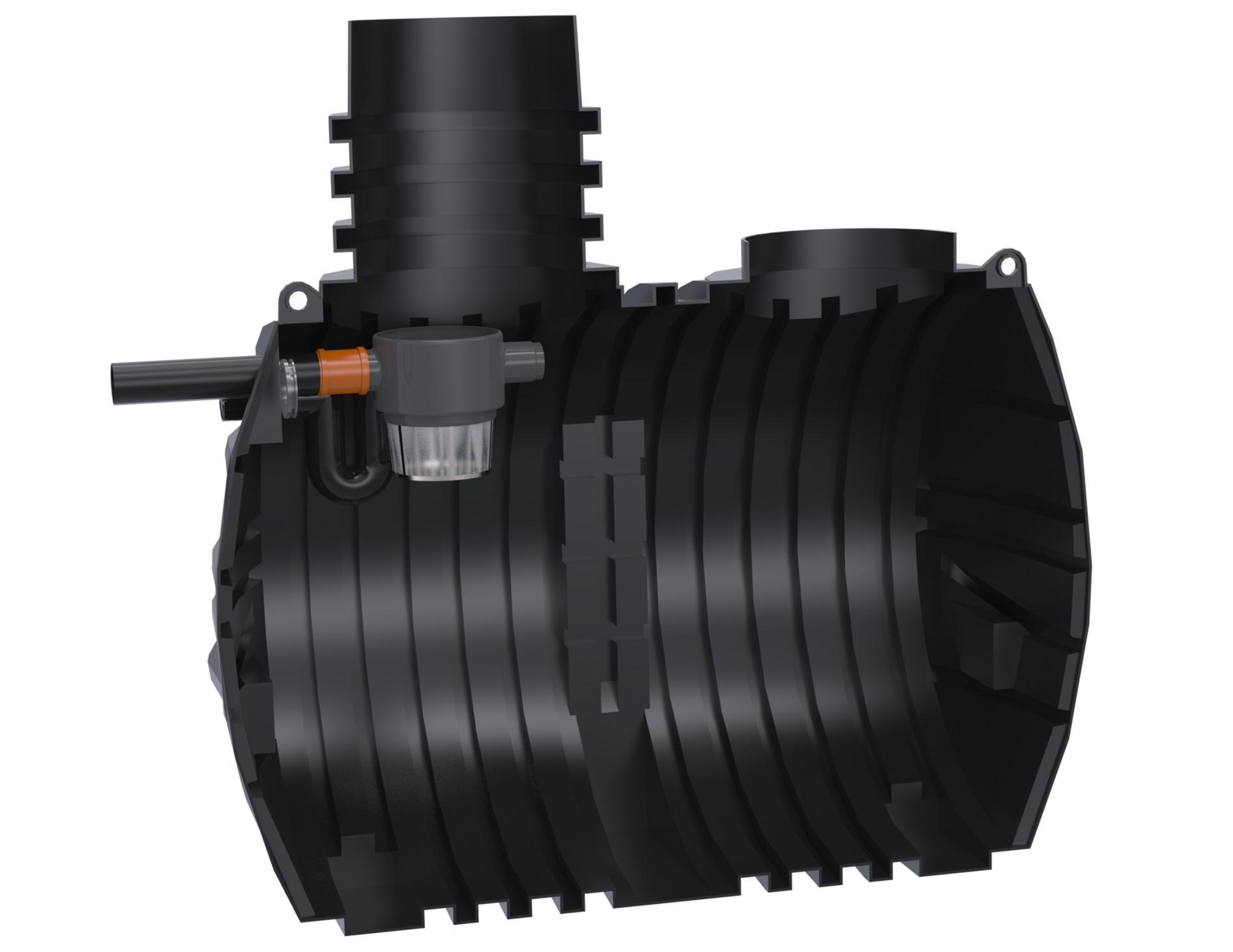 Gera Podzemní nádrž na dešťovou vodu Eco 5000 litrů