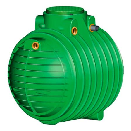 Nicoll Podzemní nádrž na dešťovou vodu COLUMBUS 3700 - 3,7 m3 - poklop