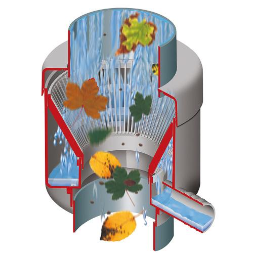 GRAF Sběrač dešťové vody s filtrem automat lux