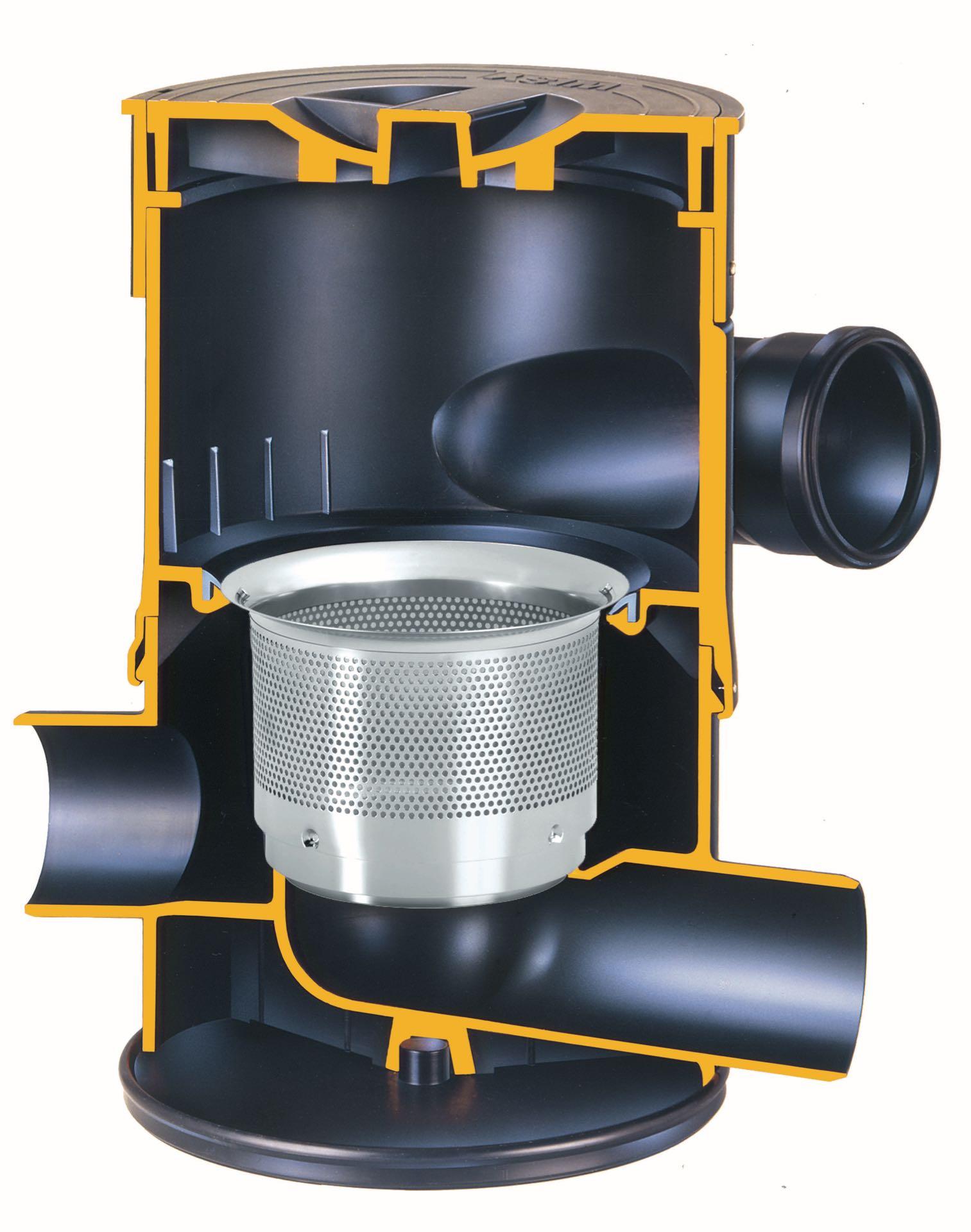wisy Vířivý filtr WFF 100 Název: WFF 100, vířivý filtr, velikost ok 0,28 mm, včetně prodlužovacího kusu