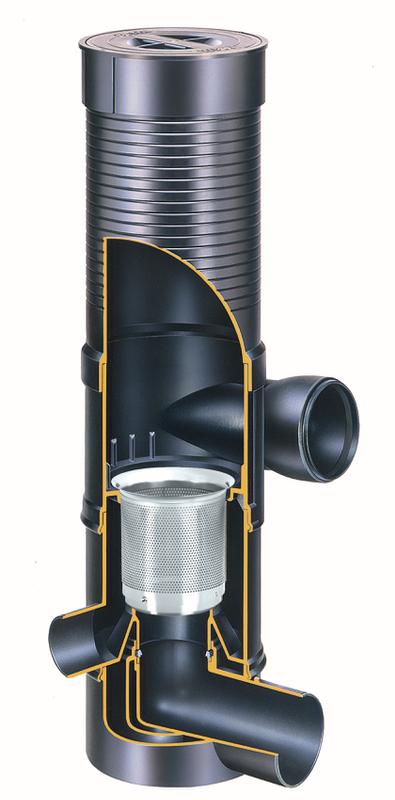 wisy Vířivý filtr WFF 150 Název: WFF 150, vířivý filtr, velikost ok 0,28 mm, včetně prodlužovacího kusu