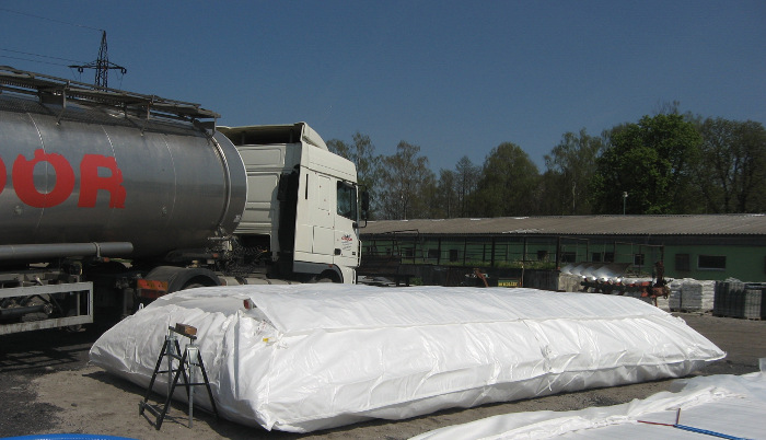 BFT Flexi textilní vak na dešťovou vodu - 50m3