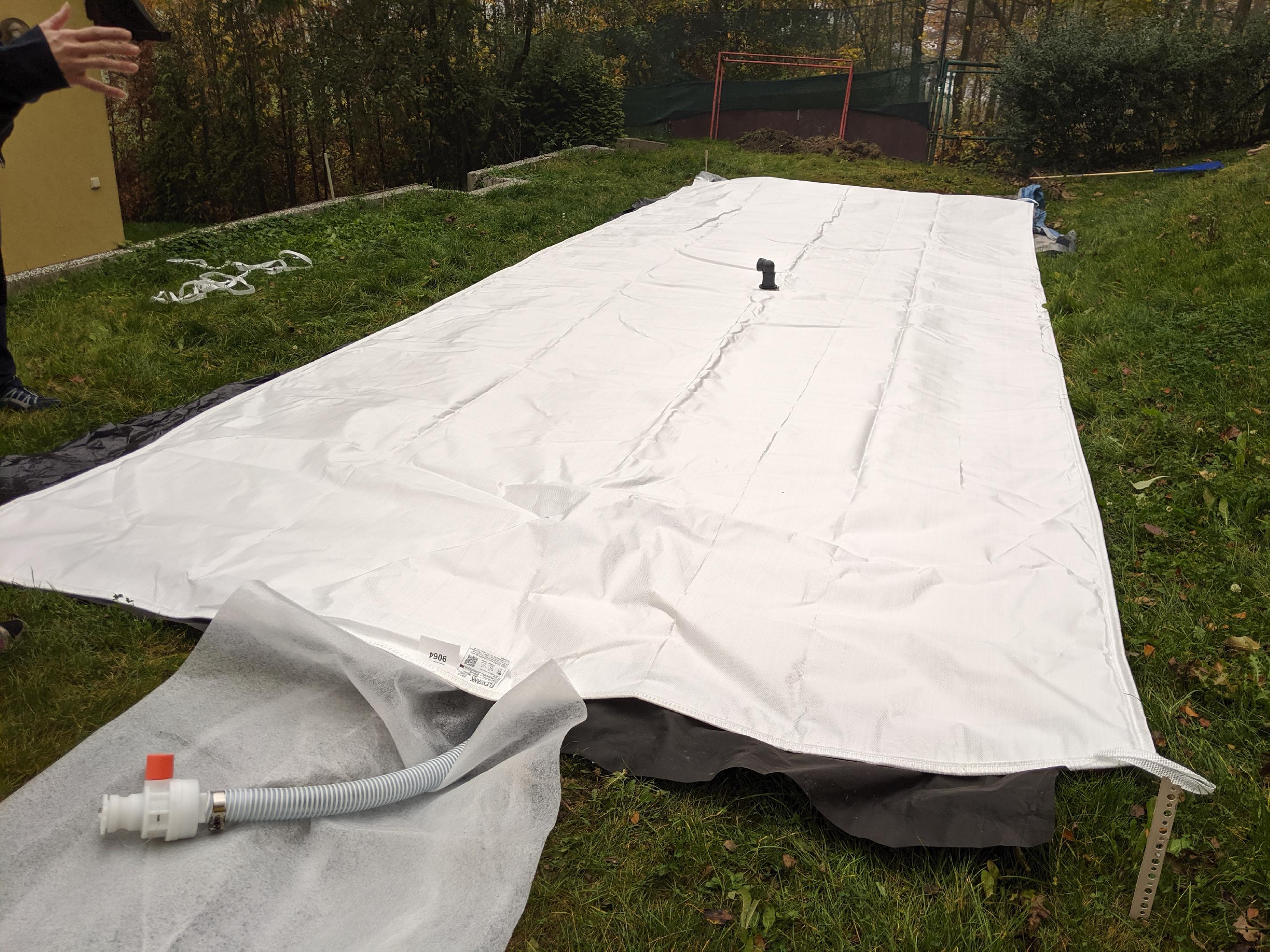 BFT Flexi textilní vak na dešťovou vodu - 10m3