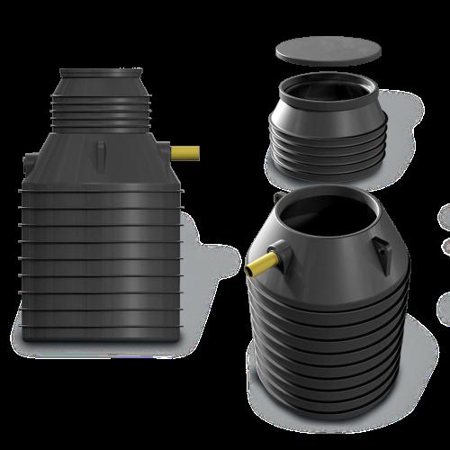 ASIO AS-MONA 3000 Vertical- nádrž na dešťovou vodu