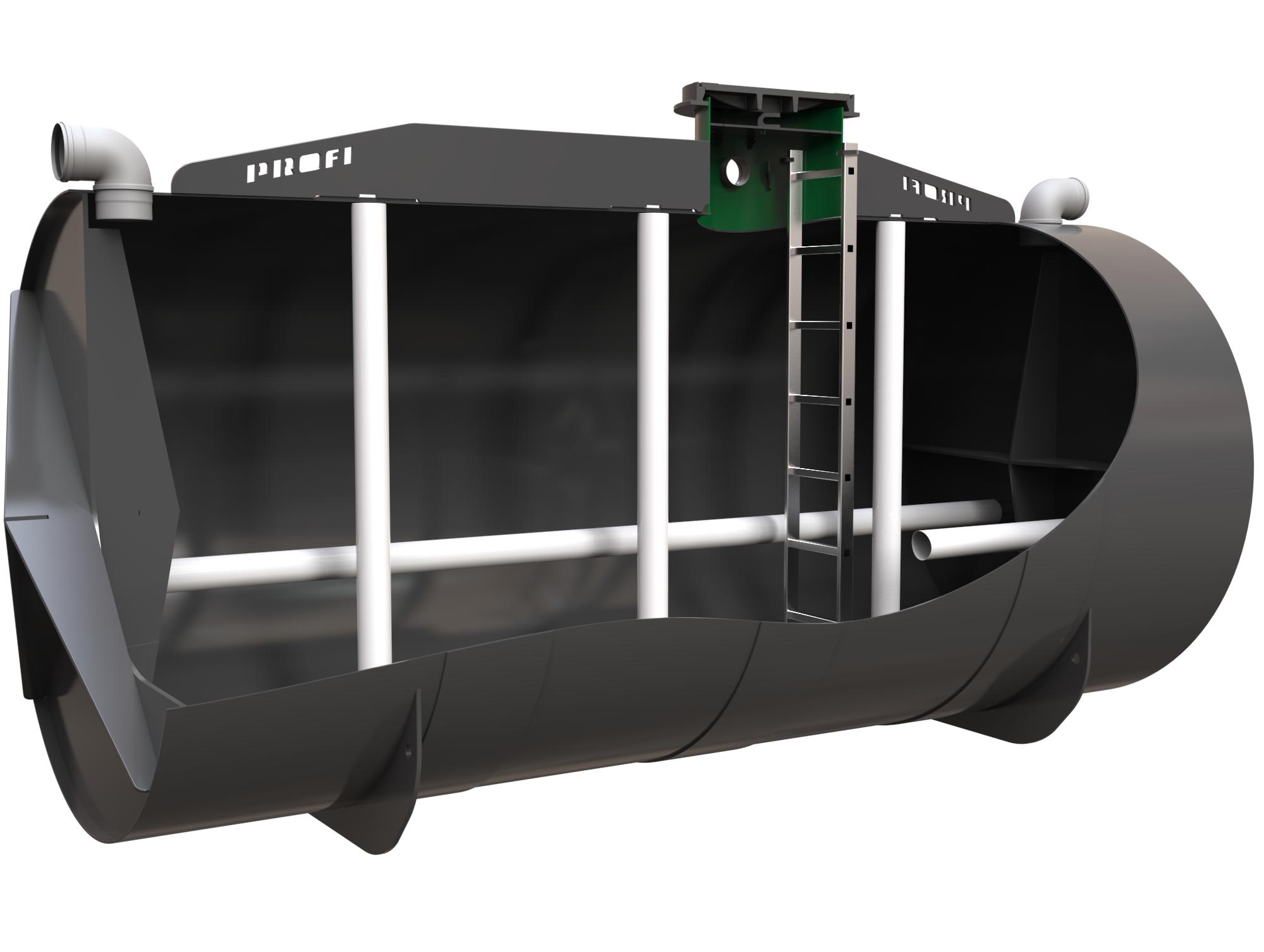 Kolomaki PROFI nádrž na dešťovou vodu 17 m3