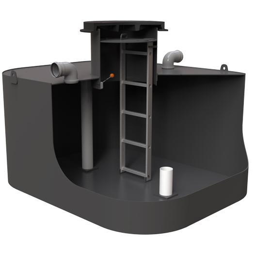 Kolomaki Podzemní nádrž nízká Planus 3