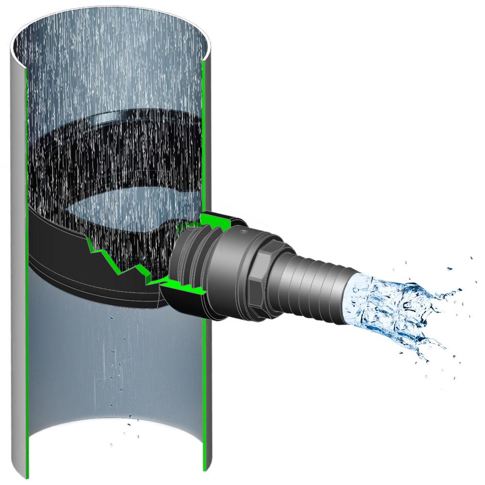 3p Sběrač dešťové vody EasyFix
