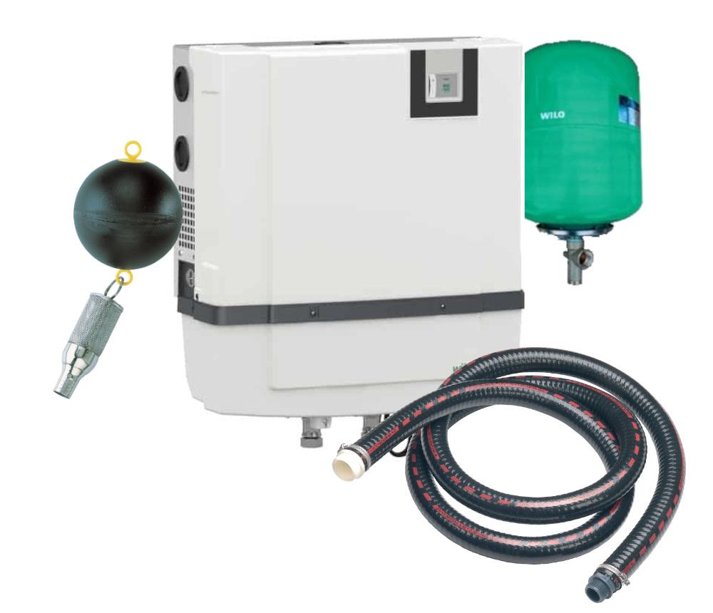 Domovní jednotka WILO RAIN3-25 EM - set komplet