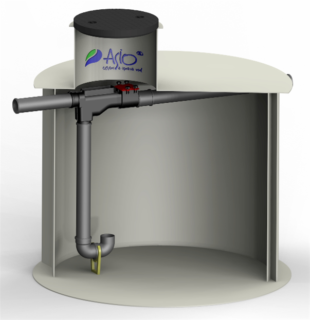ASIO Podzemní nádrž na dešťovou vodu AS-REWA ECO 5 EO - 4,7 m3