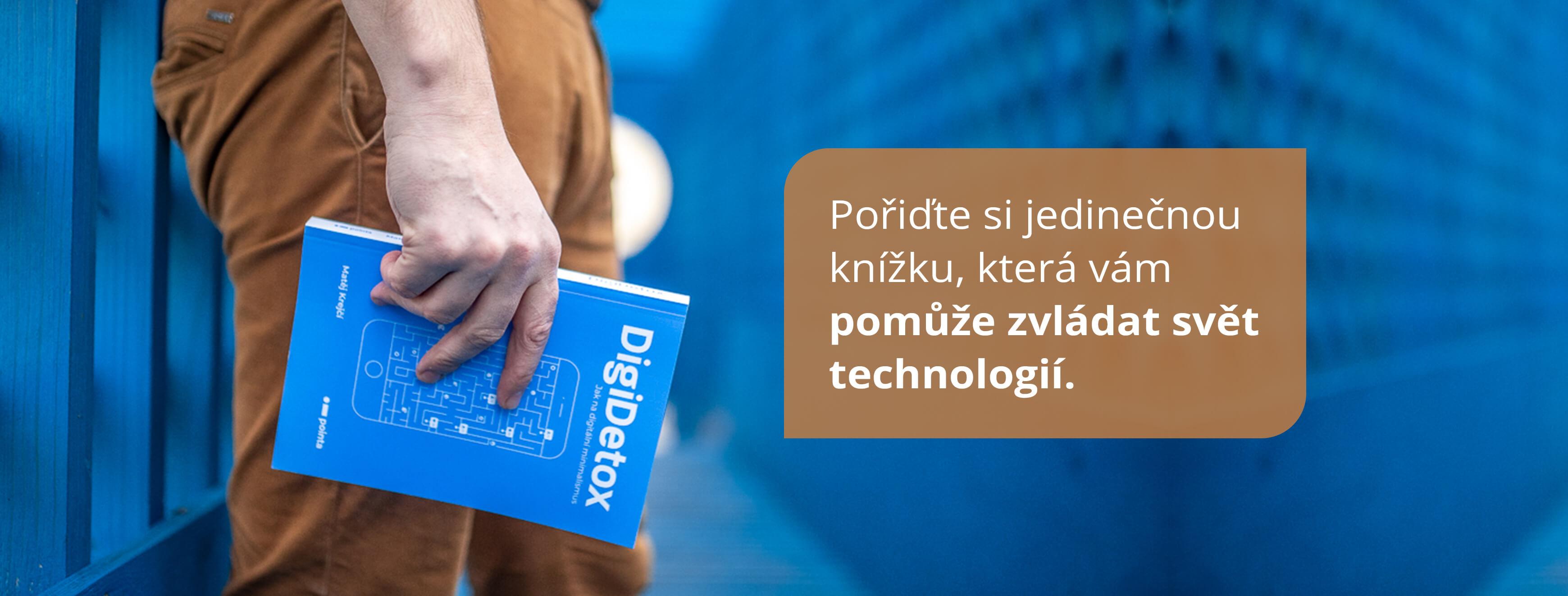 Kniha Digidetox - jak na digitální minimalismus