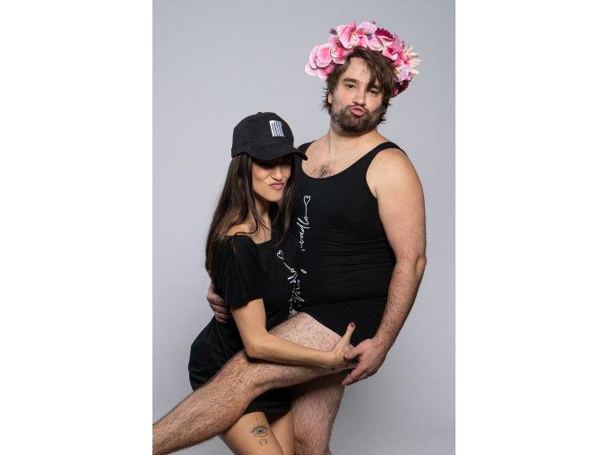 Šaty Míruju divadlo - tričkové