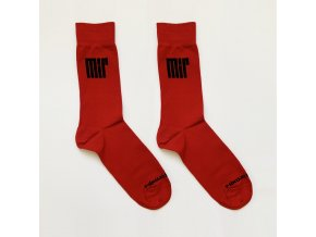 ponozky mir cervena 2