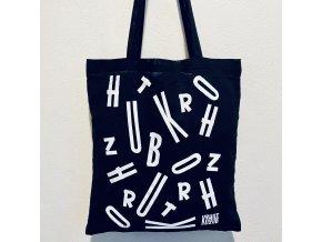 Bavlněná taška / Prásknu bičem / Logo - Písmenka