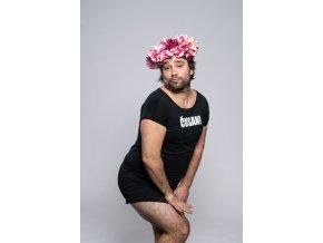 Šaty ČUSAN! tričkové