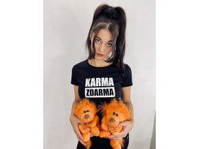 Tričko Karma zdarma - dámské
