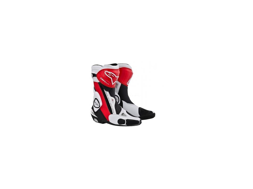 boty Alpinestars SMX PLUS NEW červeno-bílé