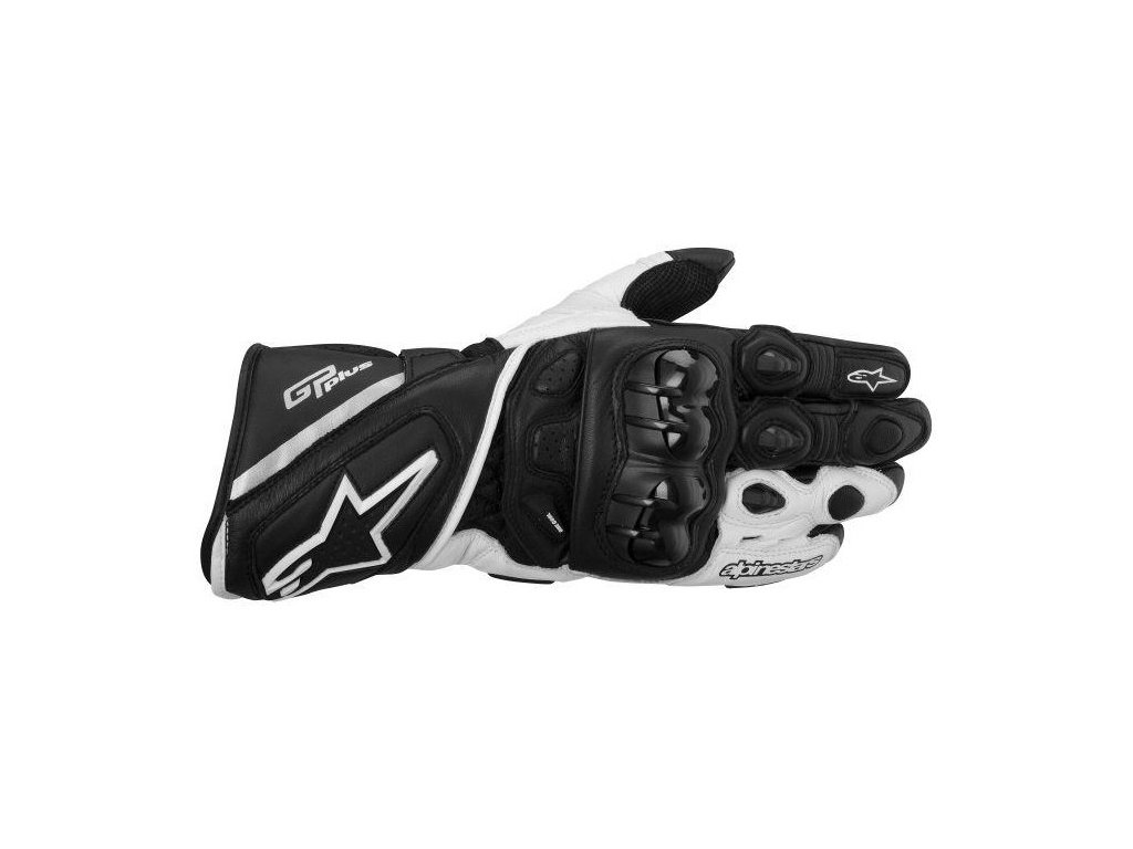 rukavice ALPINESTARS GP Plus černo-bílé