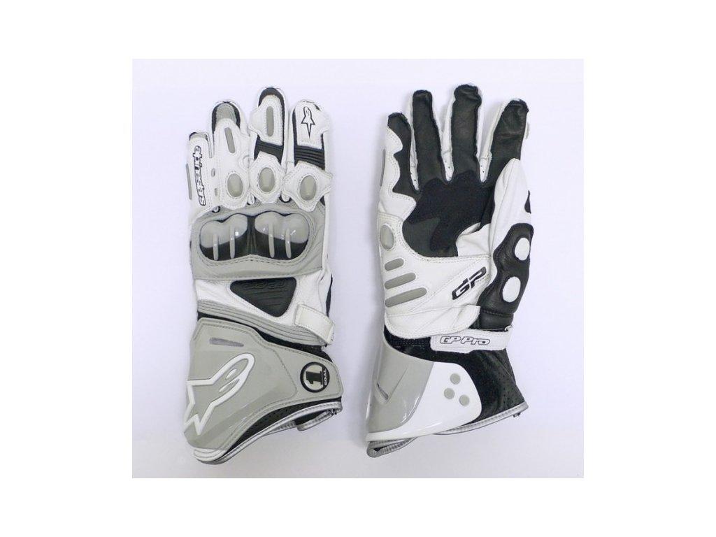 rukavice ALPINESTARS GP Plus šedé
