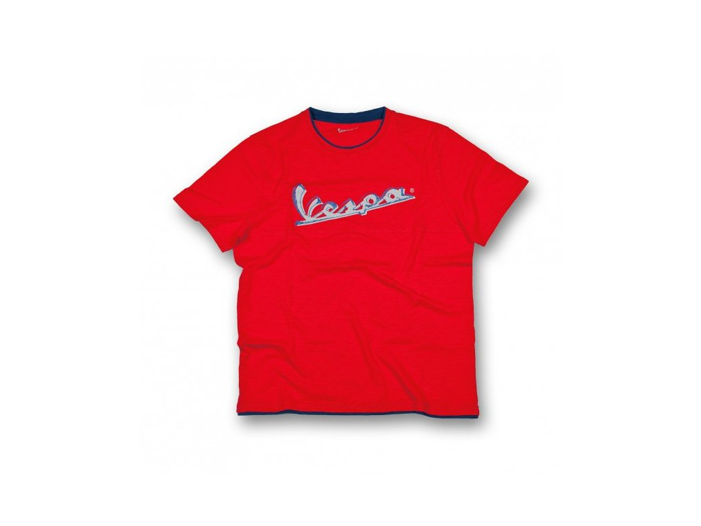 Tričko Vespa Original červené