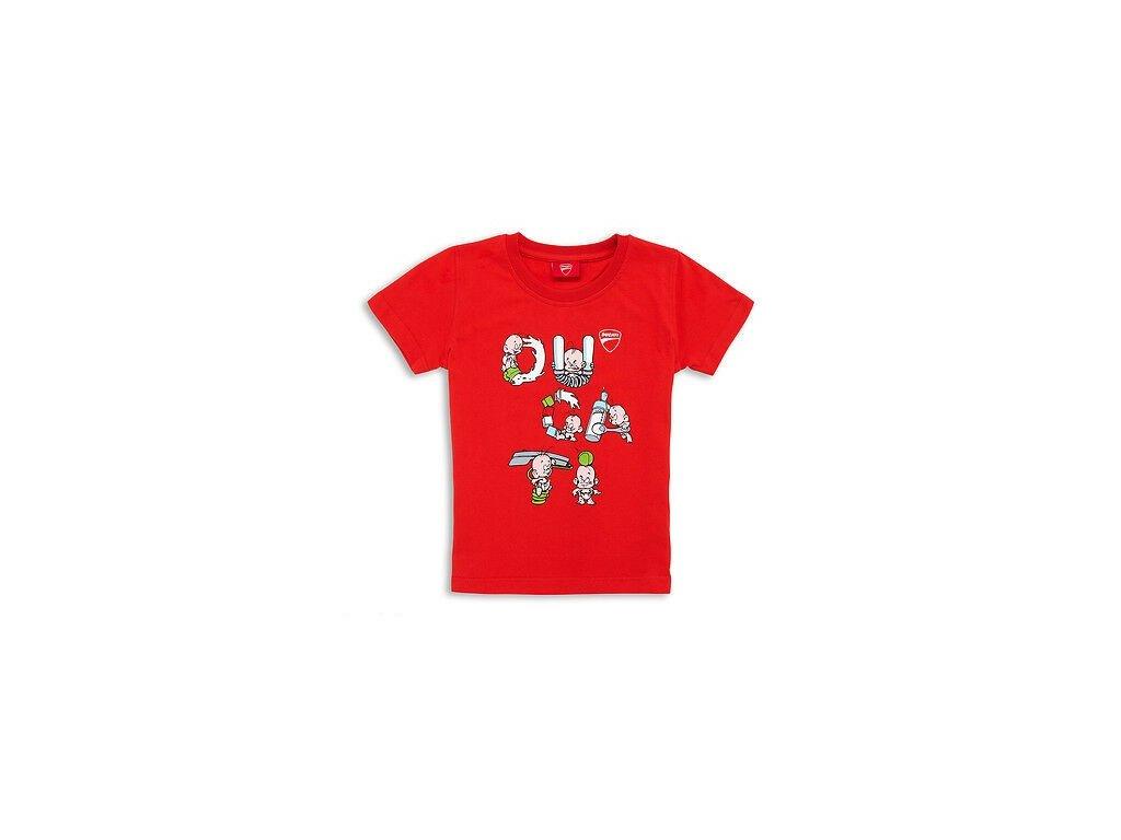 Dětské tričko Ducati písmenka