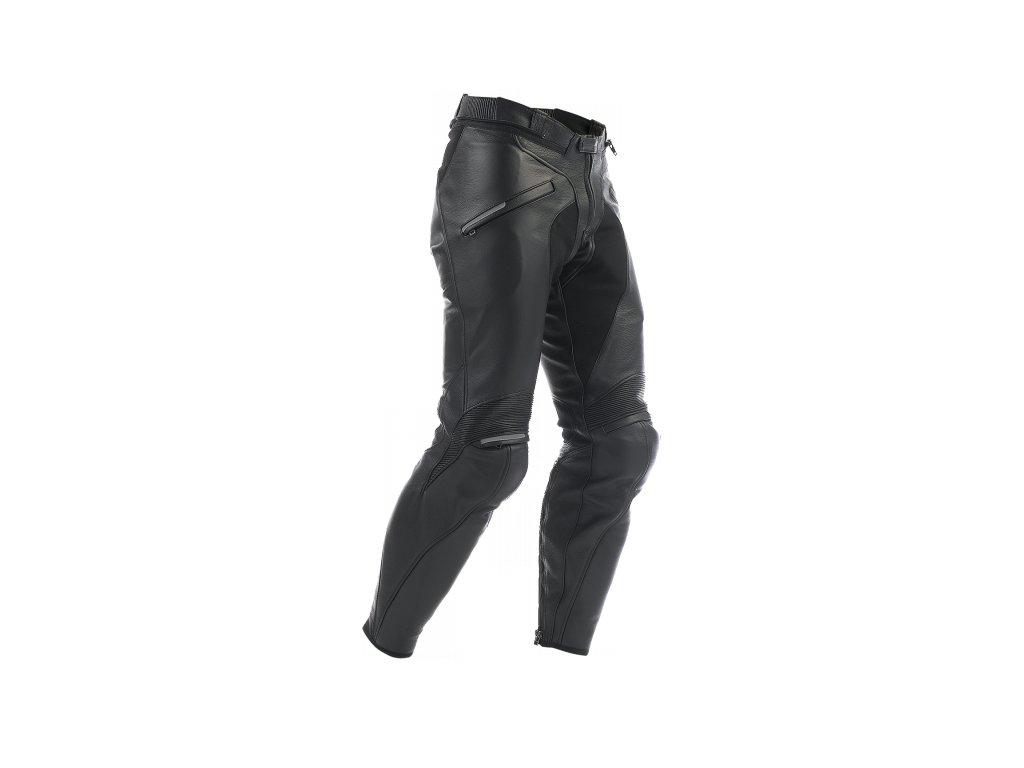 kalhoty Dainese ALIEN, kožené, černé