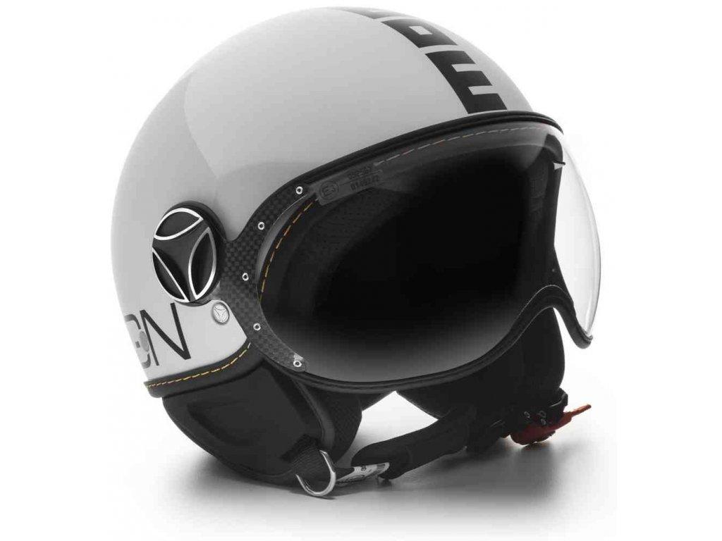 MOMO FGTR EVO White Quarz Glossy Logo Black 1 ml