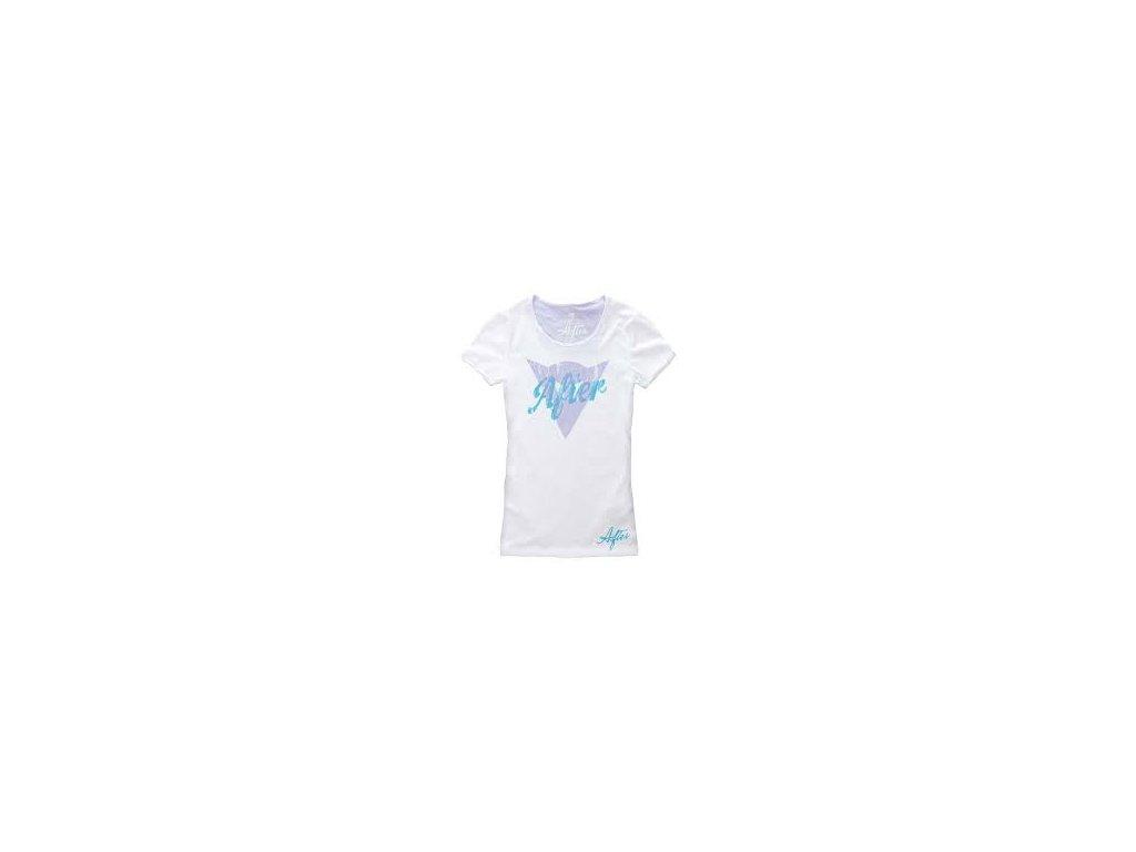 Tričko Dainese Transparent Lady bílo-fialová