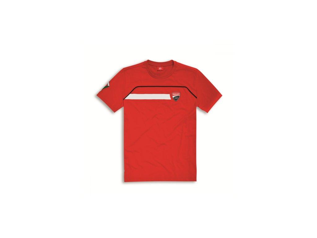 tričko Ducati Corse Speed červené