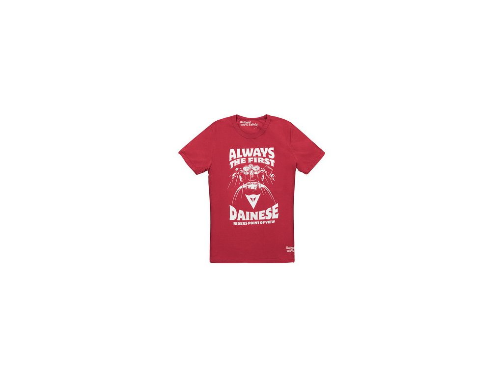 Tričko Dainese Always červená