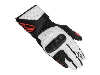 rukavice Alpinestars SP-8 černo-bílo-červené dámské