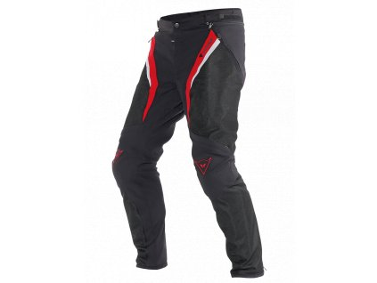 eng pl Motocycle pants Dainese Drake Super Air Tex black red 61390 1