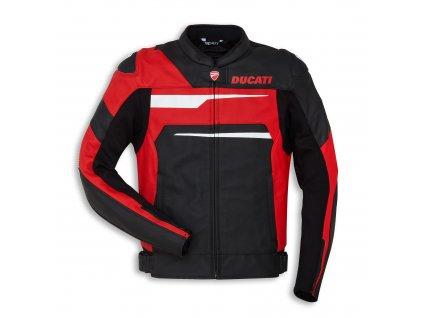 bunda Ducati Speed Evo černo-červená