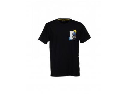 Tričko Vespa Heritage černé
